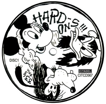 HARD-ONS - DISC ART