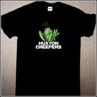 Huxton Creepers - The Mantis (T-Shirt - $25.00)